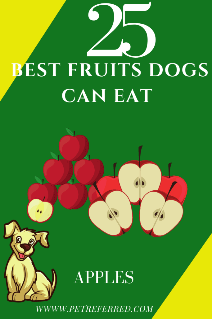 are apples good for dogs